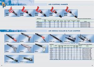 35 36 Air Chipping Hammer เครื่องขูดเกล็ดอากาศ