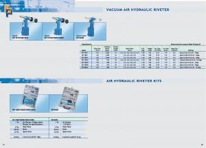 51 52 Remachadora hidráulica de aire
