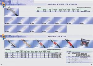 57 58 Напильник повітряного кузова з повітряним ножем