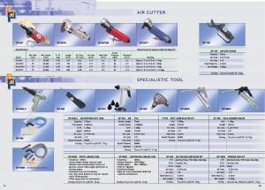 61 62 Herramienta especializada de cortador de aire