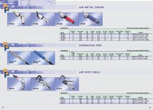 63 64 Air Metal Cisaillement Stylo de gravure Air Spot Drill