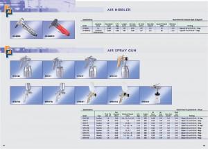 67 68 Pistola de pulverización de aire Air Nibbler