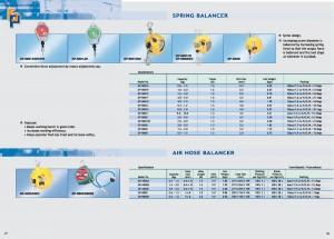 77 78 Balanceador de resorte Balanceador de manguera de aire
