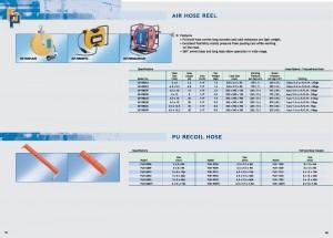 79 80 Avvolgitubo dell'aria Tubo flessibile di riavvolgimento in PU