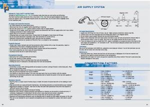 83 84 Istruzioni di sicurezza Sistema di alimentazione dell'aria