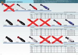 p11 ~ 12 гайковий ключ із повітряним храповим механізмом