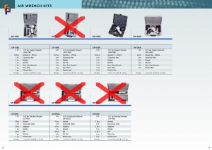 p13~14 Air Wrench Kit
