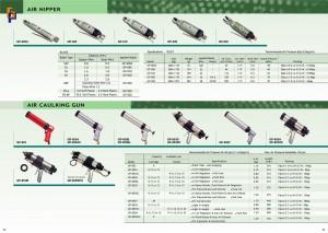 p63 ~ 64 Пістолет для герметизації повітряної кусачки