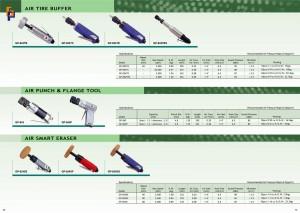 p69 ~ 70 Ластик для інструментів з фланцевими перфораторами для повітряних шин