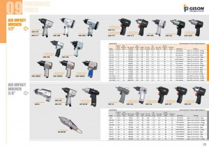 p09 10 Air Impact Wrench