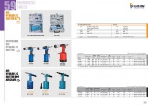 p59 60 riveteuse hydraulique pneumatique