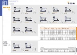 p61 62 Air Stapler Nailer Pinner
