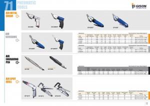 p71 72 Air Metal Shear Air Scissors Air Engraving Pen Air Spot Drill
