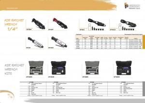 p15 16 Sada vzduchových ráčnových klíčů Sada vzduchových ráčnových klíčů