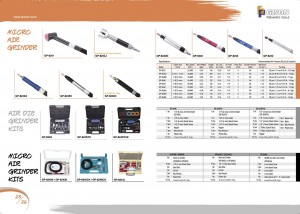 p25 26 Micro Air Grinder Kits Air Die Grinder Kits