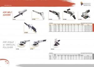 p37 38 Levigatrice a nastro pneumatica Lucidatrice verticale ad angolo pneumatico