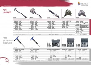 hlm 44 44 Air Scaling Hammer Air Concrete Breaker Air Hammer Kit