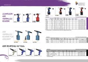 p59 60 الهواء الهيدروليكي المبرشم أدوات التثبيت الجوز الهواء