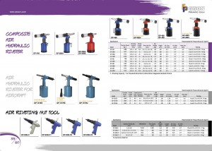 p59 60 Air ကို Hydraulic Riveter Air ကို Riveting Nut Tools များ