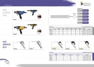 p63 64 Air C Ring Tools Pistola per grasso pneumatico