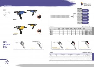 p63 64 Air C Ring Tools Vzduchová mazací pistole