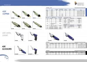 p67 68 Air Nipper Air Metal Shear Air Nůžky