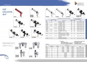 p71 72 Aria Pistola per silicone Filtro dell'aria Oliatore dell'aria Lubrificatore dell'aria del regolatore dell'aria