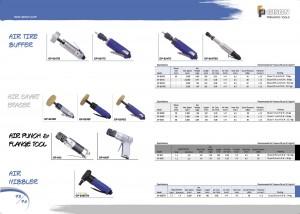 p73 74 Air Tire Buffer Air Smart Eraser Air Punch Flange Tool Air Nibbler
