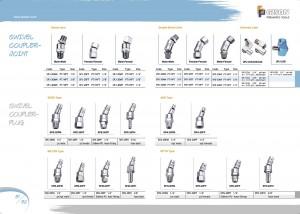 p81 82 Swivel Coupler Joint Swivel Coupler Plug