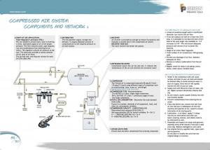 p89 90 Componenti e rete di alimentazione dell'aria compressa