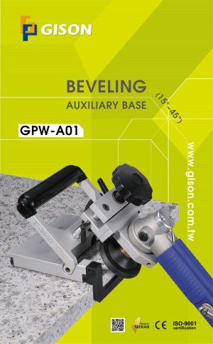 GPW-A01 Beveling Auxiliary Base(15~45 degree) Poster