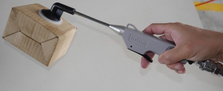 Зручны паветрана -вакуумны ўсмоктвальнік і паветранадуўны пісталет (40 мм, 2 у 1)
