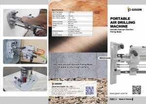 GISON GPD-231 Portable Air Drilling Machine ( include Vacuum Suction Fixing Base ) Catalogue