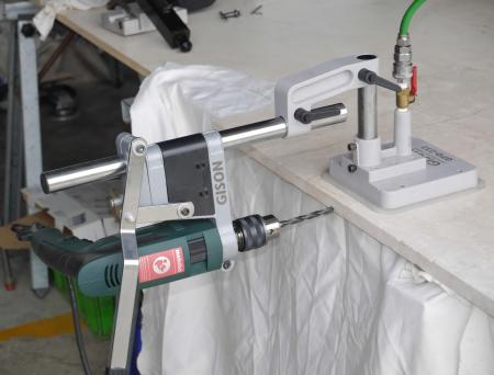 GPD-233S Light Drill Stand for Side Face (with Vacuum Suction Fixing Base)