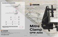 GISON GPW- GISON Mitre Clamp DM - GISON Mitre Clamp DM