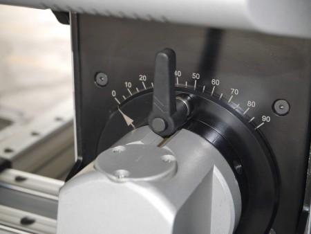 Fresatrice per foratura e taglio e formatura di fori ad aria umida (taglierina per fori)