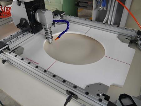 Máy khoan & cắt & tạo hình lỗ khí ướt (Máy cắt lỗ)