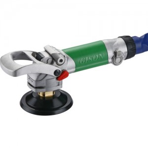 Wet Air Polisher,Sander for Stone (3600rpm, Rear Exhaust, ON-OFF Switch)