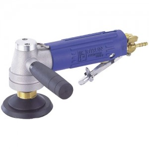 Air Wet Sander,Polisher for Stone (4500rpm, Side Exhaust, Safety Lever)