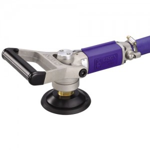 Wet Air Sander,Polisher for Stone (4500rpm, Rear Exhaust, ON-OFF Switch)