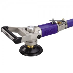 Wet Air Sander,Polisher for Stone (4500rpm, Rear Exhaust, Safety Lever)