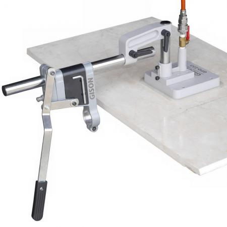 Light Drill Stand for Side Face (with Vacuum Suction Base)