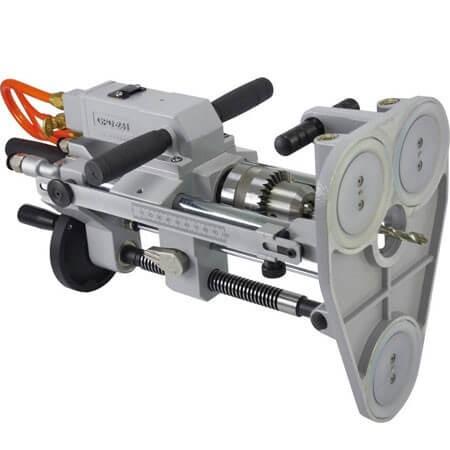 Преносима машина за пробиване на въздух (включва вакуумна основа за фиксиране на засмукване)