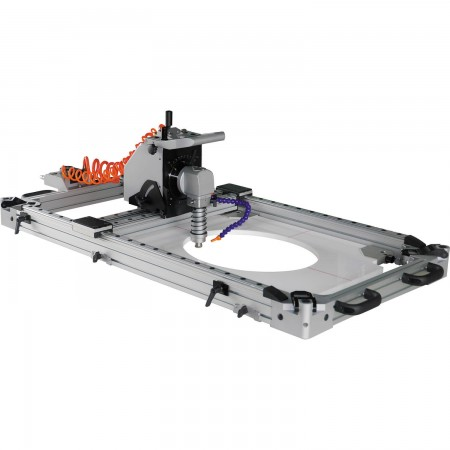 Portable Wet Air Stone Hole Cutting & Forming Milling Machine (Hole Cutter)