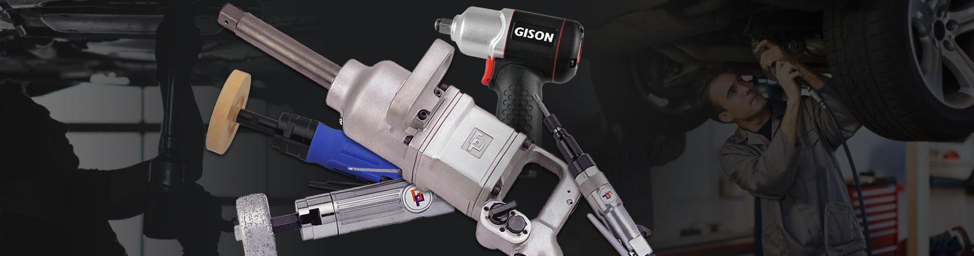 Outils pneumatiques pour la   fixation / la réparation automobile