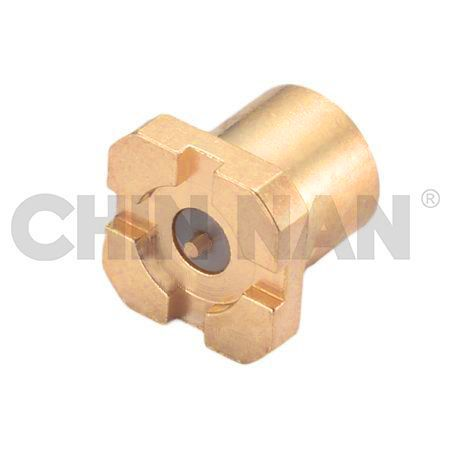 Board to Board Connector - SMPM Straight Surface Mount Full Detent Plug Receptacle