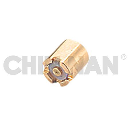 Mini-Coax Straight Surface Mount Full Detent Plug Receptacle - Mini-Coax Straight Surface Mount Full Detent Plug Receptacle