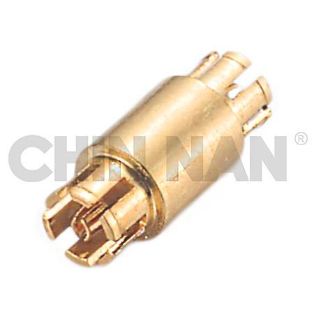 Straight Mini-Coax Jack - Jack Adapter - Straight Mini-Coax Jack - Jack Adapter