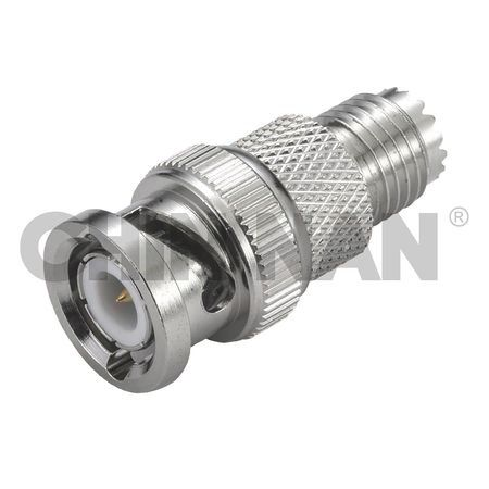 Coaxial Adapters - Straight Mini-UHF Jack-BNC Plug Coaxial Adapter - straight mini-uhf jack-bnc plug coaxial adapter