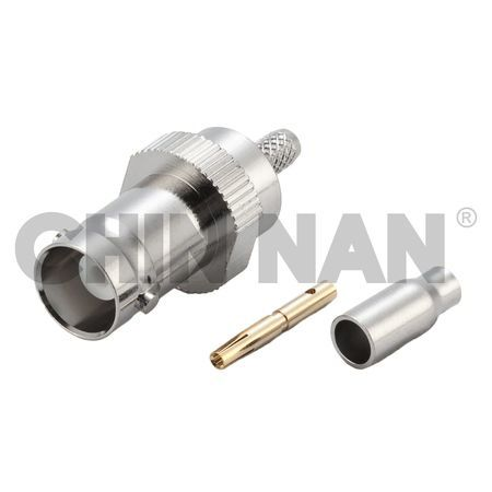 BNC Connectors - BNC Straight Jack Crimp for RG 174 or RG 316 or LMR 100A cable
